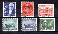 GERMANY BERLIN 1954-55 used selection