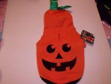 Pumpkin Hoodie Sweatshirt Costume dog new pet Petco halloween XXS XS  L