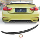 Carbon Fiber Rear Trunk Spoiler Wing Lip For Bmw 4 Series F82 M4 Coupe 2014-2017