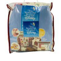 Vintage Wonderful World Of Disney Wine The Pooh Crib Bedding Comforter Bumper