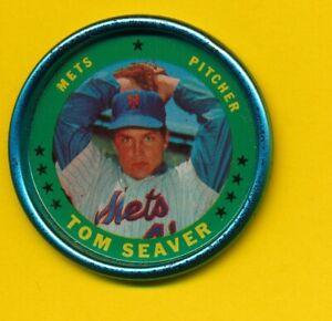 Tom Seaver (HOF) - 1971 Topps Coin - New York Mets