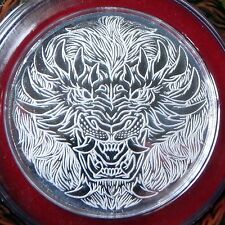 1/10 oz Pure 99.9% Silver Coin Zodiac Monster Leo *Limited Collectors Item*