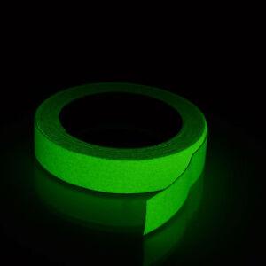 Bande Antidérapant Autocollant 25 MM X 18,3 MT Fluorescent Luminescent Glow