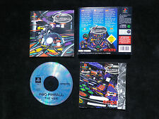 JEU Sony PLAYSTATION PS1 PS2 : PRO PINBALL THE WEB (complet, envoi suivi)