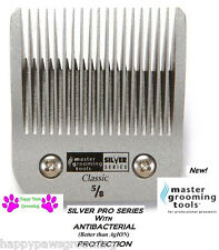 "MASTER GROOMING TOOLS A5 SILVER 5/8HT 5/8""BLADE*FitMany Andis,Oster,Wahl Clipper"