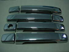 CHROME 4DOOR HANDLE HAND COVER TRIM FOR NISSAN NAVARA D40 2005-2014 DOUBLE CAB
