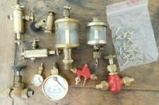 LOT1 Asst Bag Of Model Steam Engine Parts Valves Dials Gauges  Etc