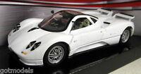Motormax 1/24 Scale 73272 Pagani Zonda C12 White Diecast model car