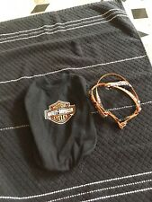 Genuine Harley Davidson Dog Harness With Matching Tshirt. Size Small