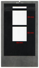 Film holder for Imacon/Hasselblad Flextight scanners, 6x6x2 scan single 6x6.