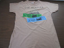 Beatles 1977-Live at the Hollywood Bowl-Authentic Promo T Shirt Capitol Records