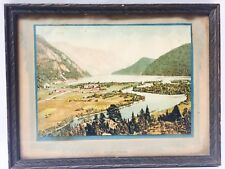 Vintage Photo of Dalen, Telemarken, Norway in 11.5 x 9 Frame