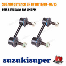 Pair L&R REAR Sway Bar Link Pin fits SUBARU OUTBACK BH BP BR 11/98 - 01/15