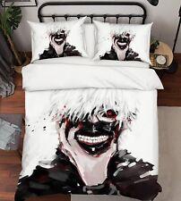 3D Japan Anime 407 Bed Pillowcases Quilt Duvet Cover Set Single Queen King UK