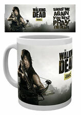 WALKING DEAD DARYL DIXON MUG NEW GIFT BOXED 100 % OFFICIAL MERCHANDISE