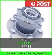 Fits MITSUBISHI OUTLANDER CW_ 2006-2012 - Rear Wheel Bearing Hub