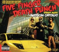 FIVE FINGER DEATH PUNCH - AMERICAN CAPITALIST CD ~ IVAN MOODY ( WASP ) *NEW*