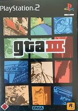 PS2 GTA III 3 Grand Theft Auto OVP Sony Playstation 2 BESTSELLER USK 18