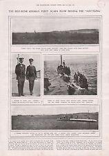 1919-VINTAGE PRINT- SCUTTLING AT SCAPA FLOW