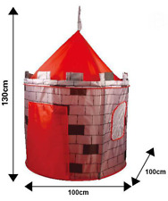 KNIGHTS CASTLE KIDS ROLE PLAY POP UP GARDEN PLAY TENT HOUSE CAT SHADE HOME HF041