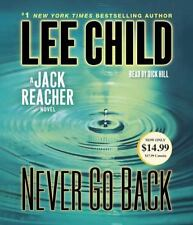 Jack Reacher: Never Go Back by Lee Child (2014, CD, Abridged)