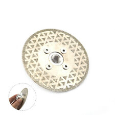 4 Inch M14 Thread Electroplated Diamond Saw Blade Cutting Disc For Stone Metal