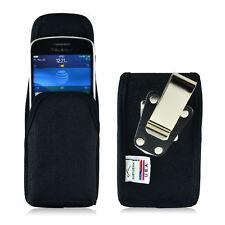 Turtleback Blackberry Q10 9900 9600 Nylon Pouch Holster Case Metal Belt Clip