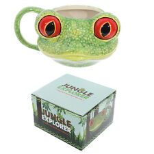 Fantasy Tasse Baumfrosch Kopf  Kaffeetasse Kaffeebecher Becher Mug Teetasse NEU