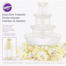 Wedding Cake Fountain Crystal Look Water Lights Wilton Fanci Flow Display Party
