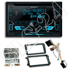 Skoda Superb Fabia Yeti 2-DIN Blende+CAN-BUS Adapter+Kenwood DPX3000U Autoradio