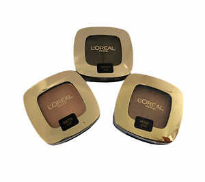 L'Oreal Color Riche Mono Eyeshadow Assorted Shades Matte Smoky Lumiere Nude