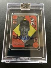 Mike Mussina 2020 Topps Clearly Authentic 1951 Auto Autograph #18/50 Orioles at0