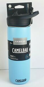 CamelBak Eddy+ 20oz Vacuum Insulated Stainless Steel Water Bottle, Blue
