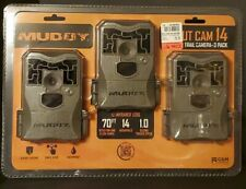 ☆NEW☆ Muddy Skout Cam Trail Camera 14mp 3 Pack Bundle FAST SHIPPING!