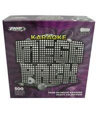 Zoom Karaoke Megapack - 500 Karaoke Songs, 26 CDG Discs (Great for beginners)