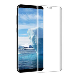For Samsung Galaxy S9 3D Curved Tempered Glass Full Screen Protector Film Cover