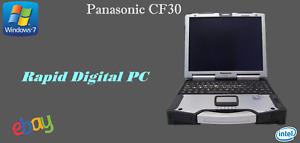 Panasonic Toughbook CF30 Intel L2400 2Gigs 80Gig HDD Windows 7 Pro 32X