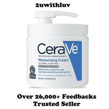 CERAVE MOISTURIZING CREAM WITH PUMP 453G 16OZ FAST POST!