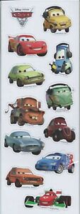 Disney Pixar Cars Party Supplies Gifts - Pack of 12 Fridge Magnets (Soft)