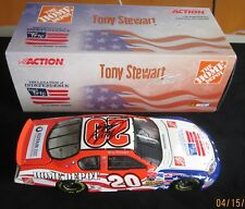 Tony Stewart signed Home Depot 1/24 scale Action Car
