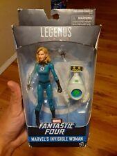 "INVISIBLE WOMAN - Sue Storm 6"" inch Action Figure Marvel Legends Fantastic Four"