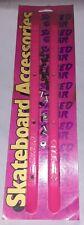 Shred Gear Skateboard side rails valterra products Skateboarding hot pink s791