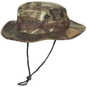 Us Gi Ripstop Bush Boonie Hat Army Fishing Hunter Cap Real Tree Brown Camo S-XL