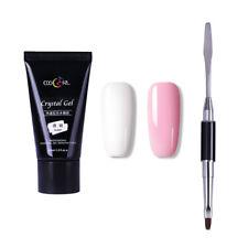 30ml Poly Gel Quick Builder Gel Finger Extension Nail Tips UV LED Gel Camouflage