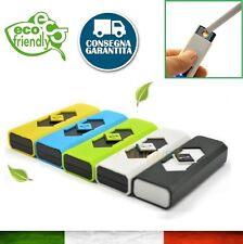Accendino Elettrico Ricaricabile Senza Fiamma  USB Idea Regalo Elettronico ECO -