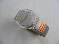 2001 Swatch Watch Standard Big Moka Gold GK336