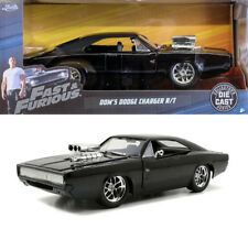Dodge Charger R/T 1970 schwarz Fast & Furious 7 Dom 1:24 Jada Toys 97059 RT