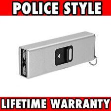 SILVER TACTICAL SELF DEFENSE 999 MV MINI RECHARGEABLE POLICE STUN GUN Keychain