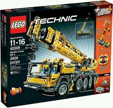 LEGO Technic 42009 Mobile Crane Mk II - New, Factory Sealed w/Power Functions