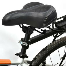 Wide Big Bum Bike Bicycling Sprung Cruiser Comfort Sports Saddle Seat Soft Pad